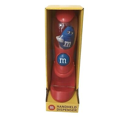 $25.60 • Buy M&M's World Red Blue Handheld Dispenser Candy Dispenser New With Box