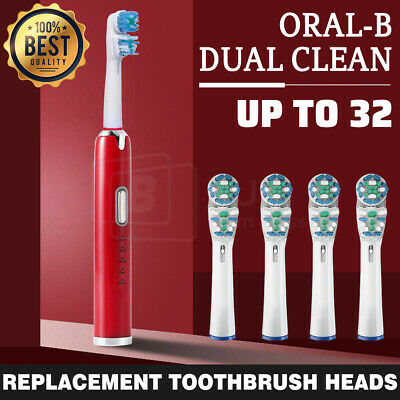 AU6.59 • Buy Toothbrush Heads Replacement DUAL CLEAN For Oral-B Electric Floss Flexi