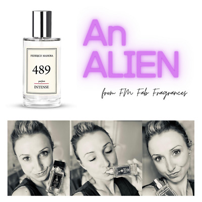 FM 489 Pure Intense Collection FM Perfume Fragrance For Women 50ml IN STOCK! UK • 18.50£