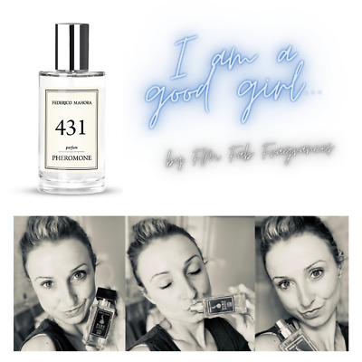 FM 431 Pure Pheromone Collection FM Perfume For Women 50ml IN STOCK! UK • 16.75£