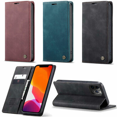 $ CDN10.55 • Buy For Galaxy S8 10+ 10e 20 20+ S20 Ultra 5G Leather Wallet Flip Stand Case Cover