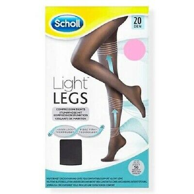 £4.99 • Buy Scholl Light Legs Compression Tights 20 Den Medium Large Extra Large