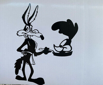 Road Runner Wylie Coyote Car Decal / Sticker • 2.75£