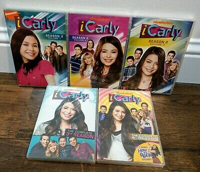 ICarly Complete Seasons 2, 3, & 4 (DVD 11 Disc Set) *SEALED* Series New Vol. 2 3 • 71.64£