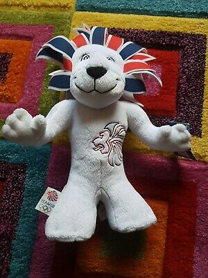 London 2012 Olympic Mascot Pride The Lion Soft Toy With Tag • 8£