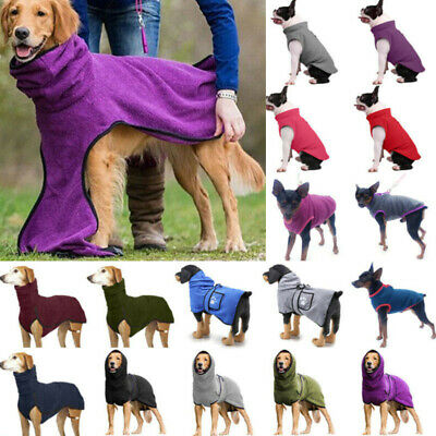 £9.39 • Buy Dog Puppy Hooded Pullovers Coat Jumper Clothes Pet Apparel Sweater Jacket Winter
