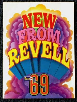 £10 • Buy Old Revell (gb) New From Revell 1969 Vintage Kit Catalogue Rare   Vgc