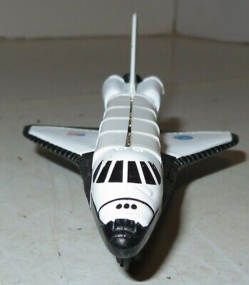 Vintage  NASA Space Shuttle Discovery Replica Toy Die Cast Metal 4  Open Engine • 9.40£