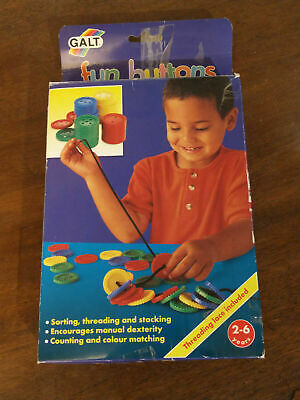 AU6.64 • Buy Galt Toys Fun Buttons - Creative Activity For Kids 2-6 Years