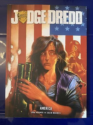 Judge Dredd: America By John Wagner Paperback Book The Cheap Fast Free Post • 15£