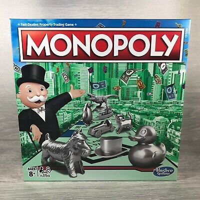 £15 • Buy Brand New & Sealed Hasbro Original Classic 'Monopoly' Property Family Board Game