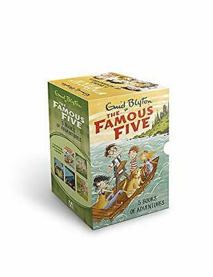 £26.99 • Buy Famous Five Collection 5 Books Set By Enid Blyton By Enid Blyton Book The Cheap