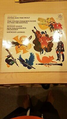£6.64 • Buy Peter And The Wolf, Young Person's Guide, Prokofiev, Britten 1971 Vinyl LP