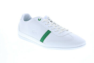 Lacoste Misano 120 1 P CMA Mens White Leather Lifestyle Sneakers Shoes • 64.37£