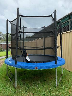 AU270 • Buy Vuly Classic 8ft Trampoline With New Safety Net And Tent
