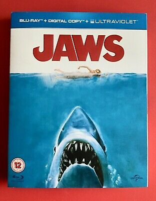 Jaws - Blu-ray - Spielberg - New And Sealed With Mint Slipcover • 10.50£