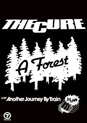 £18.99 • Buy Reproduction Alternate  The Cure - A Forest  Poster, Punk, Size A2