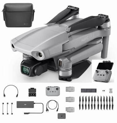 AU1289.23 • Buy DJI Mavic Air 2 Fly More Combo Drone 4K Camera Quadcopter Foldable
