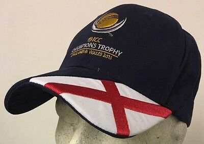 Official ICC Champions Trophy 2013 England Cricket Cap, Size Adult @ Only £8.95p • 8.95£