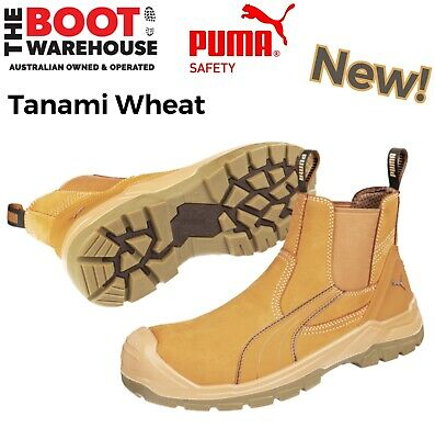 AU149.95 • Buy Puma Work Boots 630267 Tanami Wheat, Composite Safety, Elastic Sided, PRE ORDER
