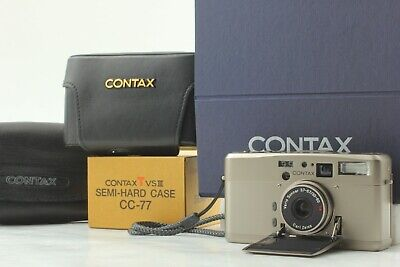 $ CDN733.98 • Buy 【TOP MINT In Case】 Contax TVS III 35mm Point & Shoot Film Camera From JAPAN #821