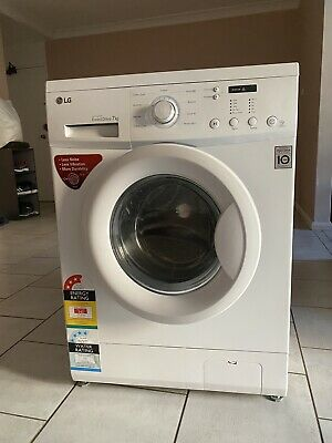 AU280 • Buy LG Front Loader Washing Machine 7KG WD1200D With Direct Drive, Smart Diagnosis