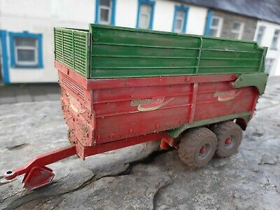 £40 • Buy Rare Britains Conversion Weathered Slurrykat Silage Trailer  For Tractor Siku