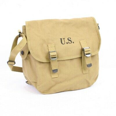 £20.99 • Buy US WW2 Replica M36 Musette Bag With Modified Shoulder Strap By Combat Serviceabl