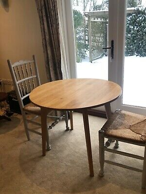 Round Wooden Dining Table (Momo Natural) Japanese Brand • 190£
