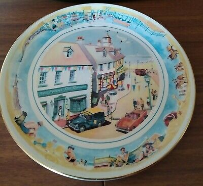 £4.99 • Buy MASONS Ringtons Limited Edition Collectors Plate  Seaside Days  10  Diameter