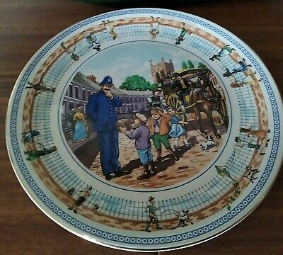 £4.99 • Buy WADE Ringtons Limited Edition Collectors Plate  Street Games  10  Diameter