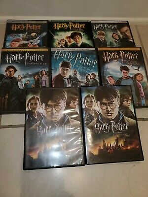 $ CDN41.22 • Buy Harry Potter: Complete 8-Film Collection (DVD, 2011, 8-Disc Set)