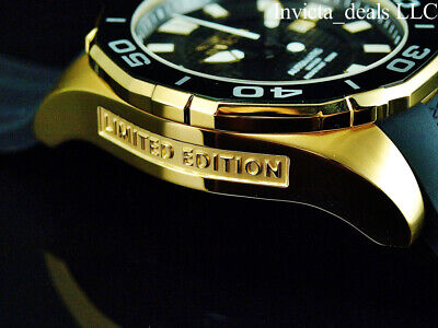 $ CDN111.40 • Buy Invicta Men's 52mm GRAND DIVER Automatic LIMITED EDITION BLACK DIAL Gold Watch