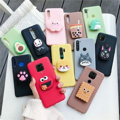 £5.24 • Buy 3D Cartoon Phone Holder Case For Xiaomi Redmi Note 8 Note8 Pro 8t Note 9 Pro