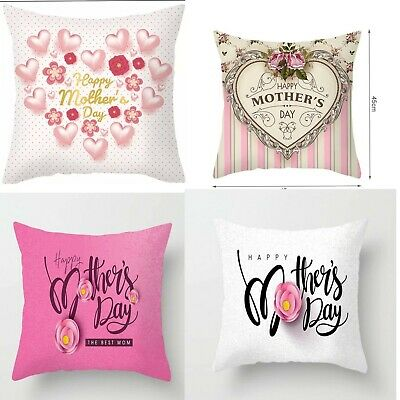 Mothers Day Heart  Cushion Cover • 4.99£