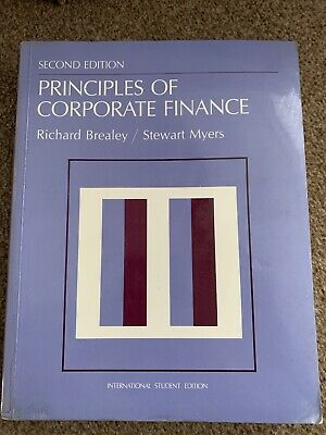 £7 • Buy Principles Of Corporate Finance - Second Edition - International Student Edition