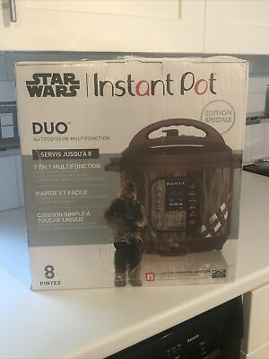 $ CDN192.25 • Buy NEW! Star Wars Instant Pot Duo Chewbacca Limited Special Edition Cooker- 8 Quart