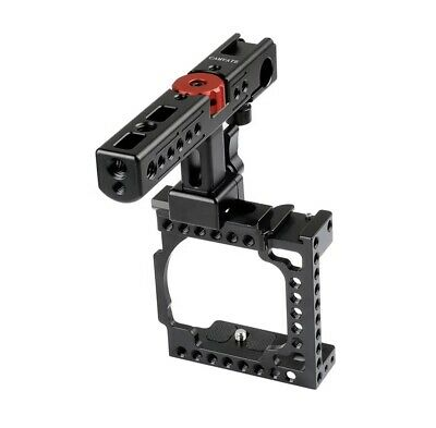 $ CDN70.05 • Buy Sony A6000 Rig Stabilizer Video Camera Cage Mount Fits A6300 & A6500 Inc Cheese