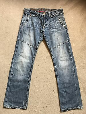 Ringspun Beauty In The Blemish Mens Mid Blue Jeans Size W32 L 32  • 13.99£