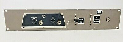$99.95 • Buy Vintage RCA Program Monitor 19  Rack Panel Microphone Student 1950's AS IS
