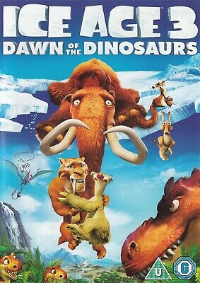 Ice Age 3 Dawn Of The Dinosaurs - NEW Region 2 DVD • 2.99£