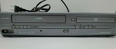 $ CDN94.23 • Buy Magnavox MWD2205 DVD Player Combo VCR 19 Micron Head Tested Works NO REMOTE