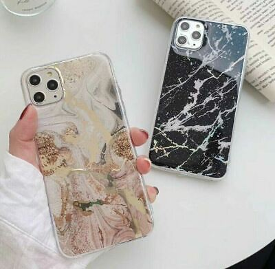 AU4.45 • Buy IPhone XS Max XR 7 8 Plus 6 Case Shockproof Luxury Marble Gold Cover For Apple
