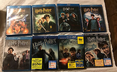 $ CDN82.47 • Buy Harry Potter Complete 8-Film Collection DVD, Blu-Ray Set LIKE NEW