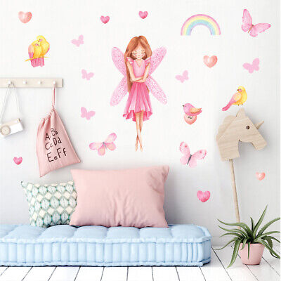 £14.95 • Buy Fairy Wall Stickers, Wall Decals, Pink Gentle Fairy FARY.2