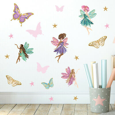 £14.95 • Buy Fairy Wall Stickers, Wall Decals, Fairy Garden FARY.7