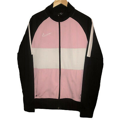 Nike Academy Track Top Jacket Colour Block Pink Black White • 50£