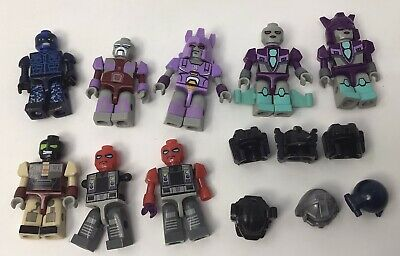 £12.95 • Buy Lot Of TRANSFORMERS KRE-O Minifig KREO Mini Figures, Parts, And Accessories
