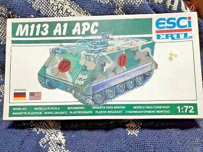 $12.55 • Buy ESCI-ERTL #8305 1/72 U.S M113 A1 Armored Personnel Carrier