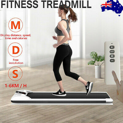 AU299.69 • Buy Electric Walking Pad Treadmill Home Office Exercise Machine Fitness LCD Display
